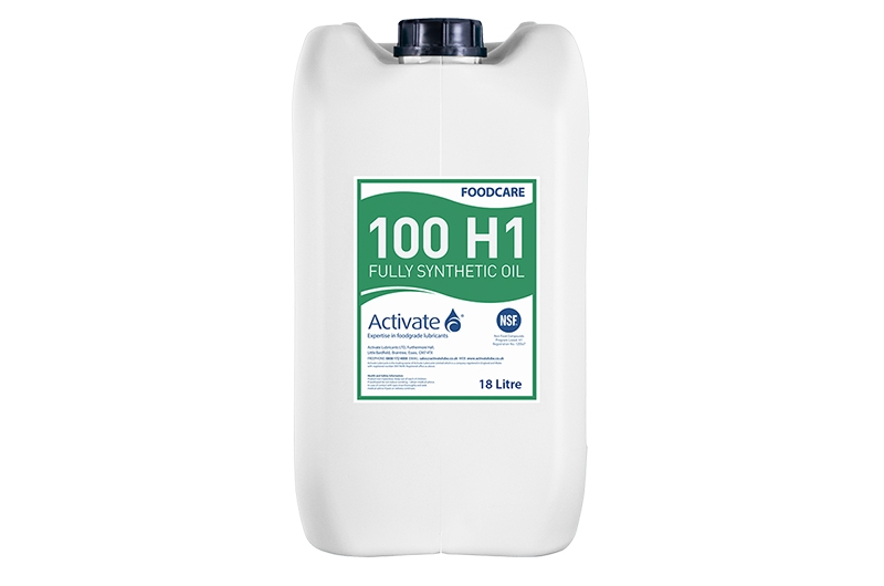Activate Lubricants Foodcare 100 H1 | Food Grade Oil
