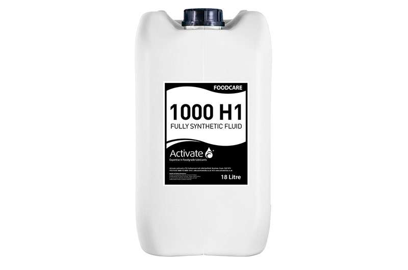 Activate Lubricants Foodcare 1000 H1 | Food Grade Oil