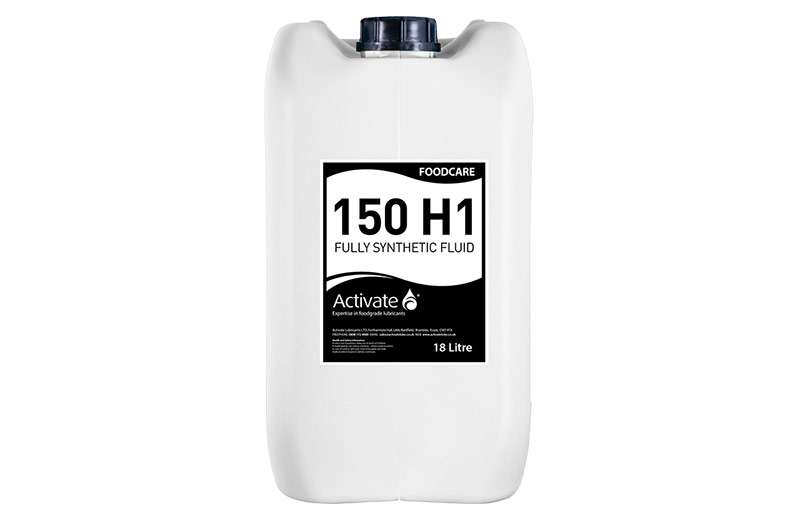 Activate Lubricants Foodcare 150 H1   Food Grade Oil