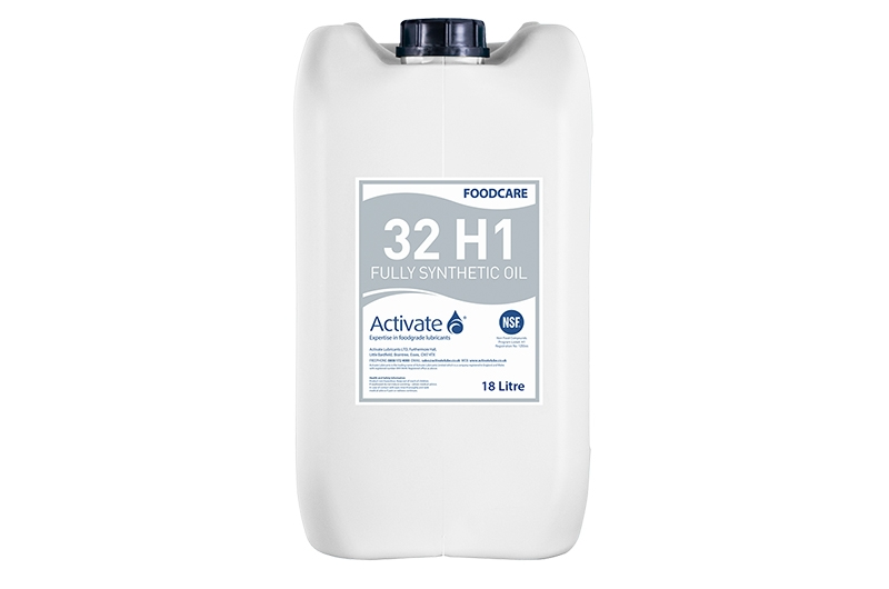 Activate Lubricants Foodcare 32 H1 | Food Grade Oil