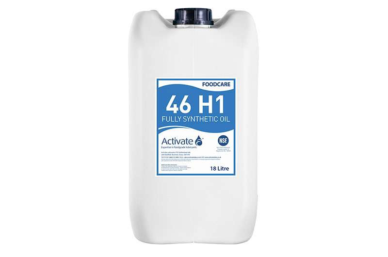 Activate Lubricants Foodcare 46 H1 | Food Grade Oil