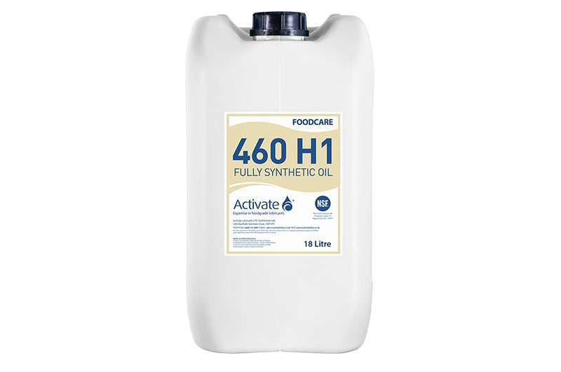 Activate Lubricants Foodcare 460 H1 | Food Grade Oil