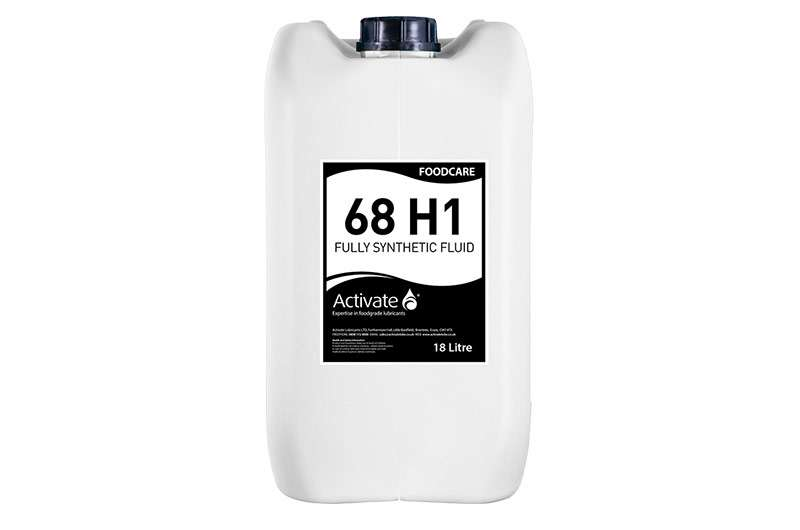 Activate Lubricants Foodcare 68 H1 | Food Grade Oil