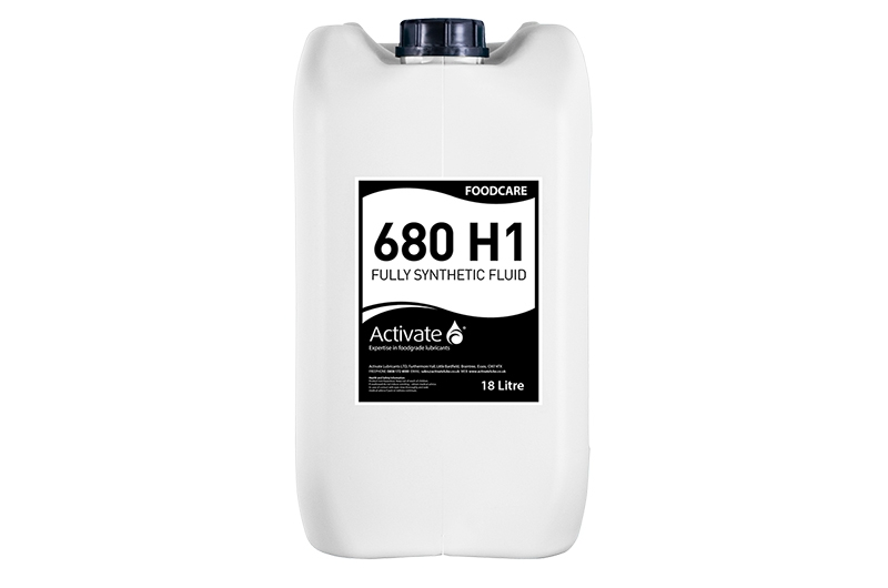 Activate Lubricants Foodcare 680 H1 | Food Grade Oil