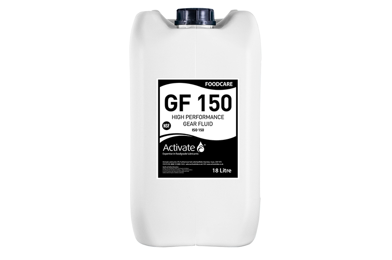 Activate Lubricants Foodcare GF 150 | Food Grade Oil