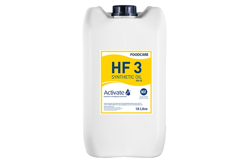 Activate Lubricants Foodcare HF3 | Food Grade Oil