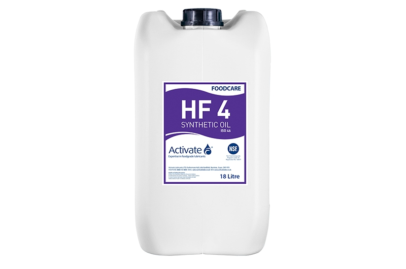 Activate Lubricants Foodcare HF4