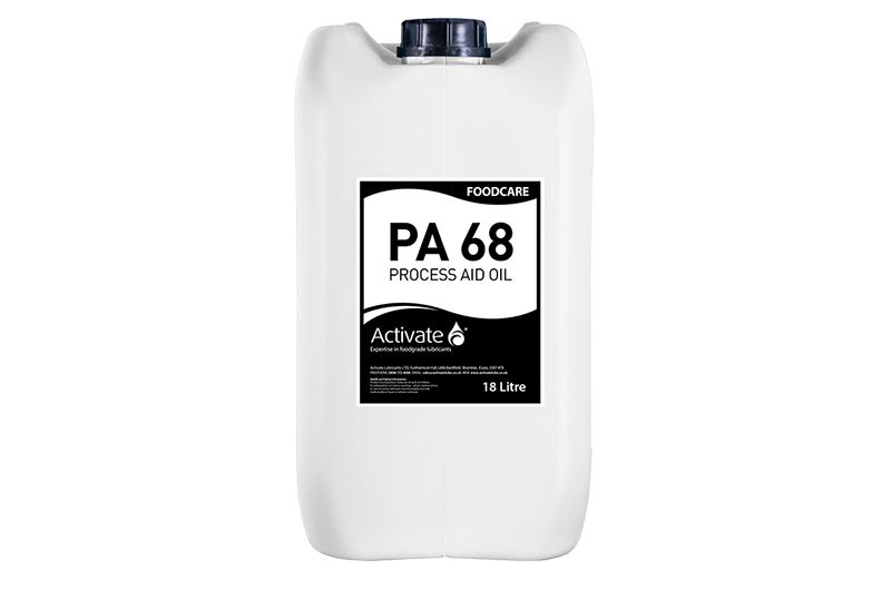 Activate Lubricants Foodcare PA 68   Food Grade Oil