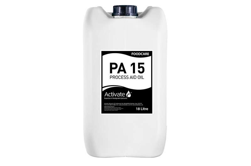 Activate Lubricants Foodcare PA15 | Food Grade Oil