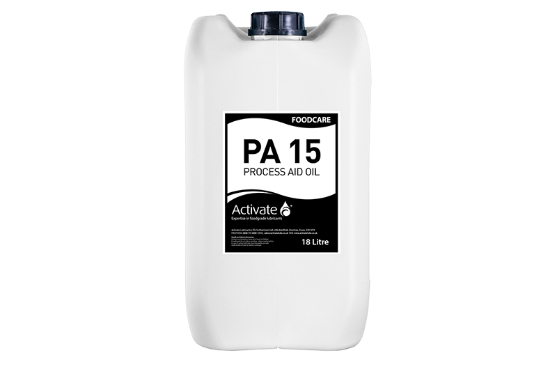 Activate Lubricants Foodcare PA15 - Food Grade Oil