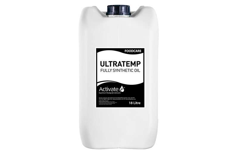 Activate Lubricants Foodcare Ultratemp XT | Food Grade Oil