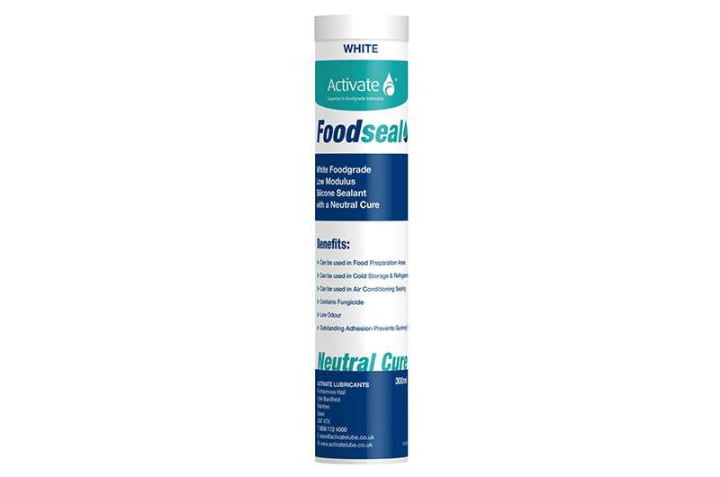Activate Lubricants Foodseal White